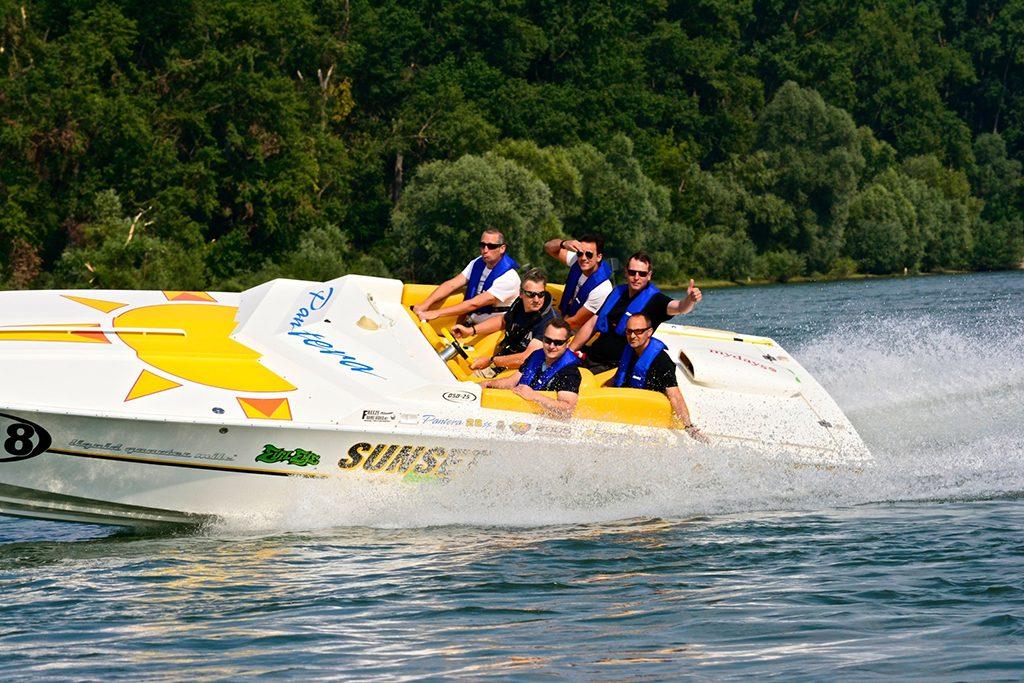Speedboot Jochen Schweizer