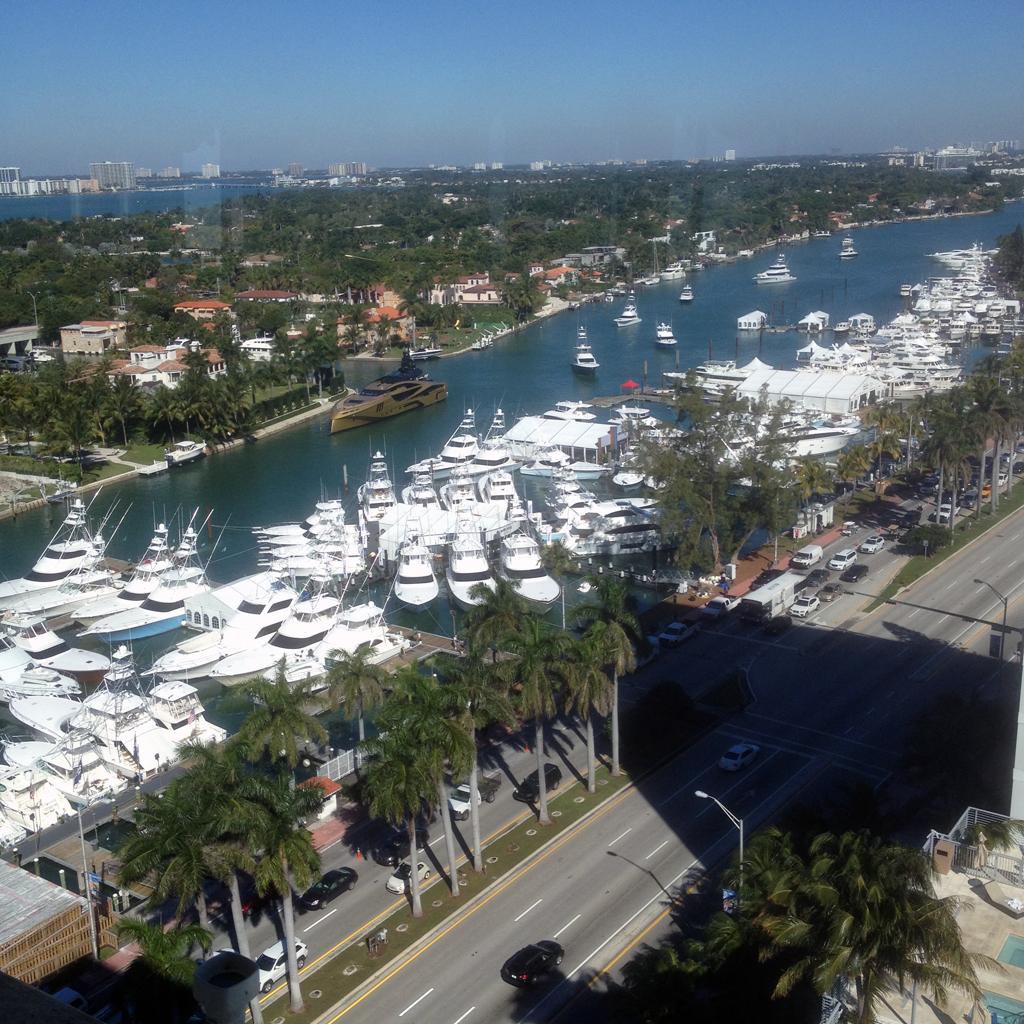 Miami Boat Show 2015